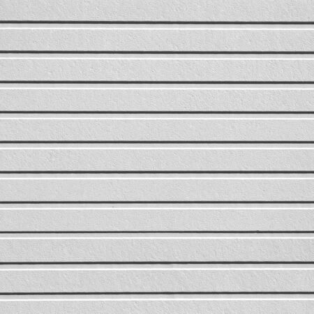 White corrugated metal texture and background surface Stok Fotoğraf