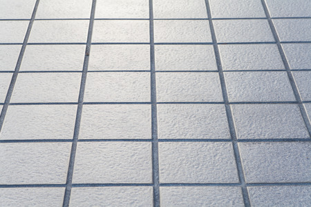 close - up street floor tiles as background..
