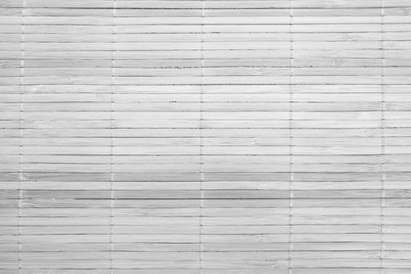 White Bamboo wood texture and seamless background photo