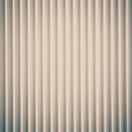 White corrugated metal background seamless and texture surface photo