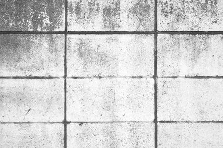 bloque de hormigon: Muro de bloques de hormig�n blanco de fondo sin fisuras y la textura
