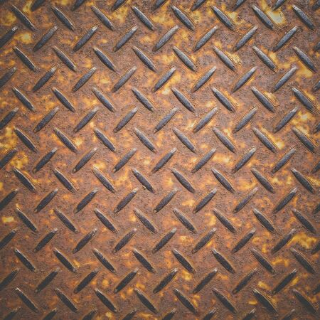 Pattern style of steel floor texture and seamless background photo