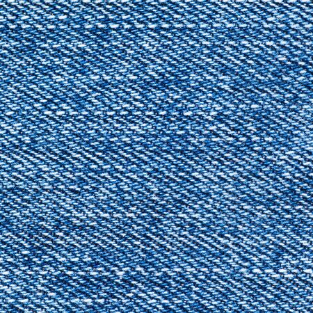 Detail of Blue denim jean texture and seamless background photo