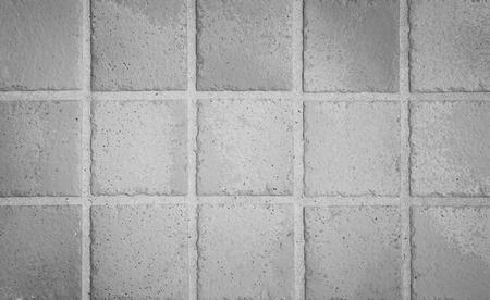 pavimento gres: White earthenware floor tile seamless background and texture