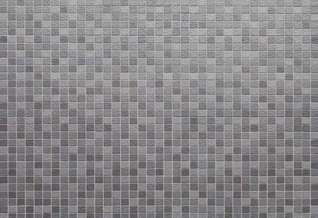 ceramica: Gris y negro mosaico textura de la pared y el fondo Foto de archivo