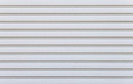 White corrugated metal background and texture surface photo