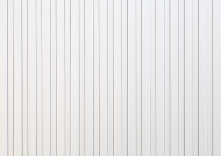 White corrugated metal background and texture surface Banco de Imagens