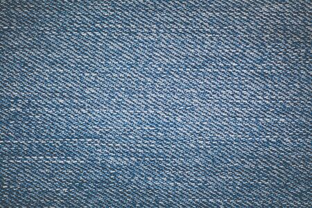 Blue denim jean texture and seamless background Stock Photo
