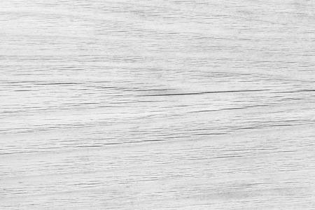 Uitstekende witte houten plank als textuur en achtergrond