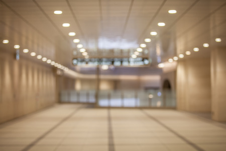 commercial architecture: Abstract background of office interior , shallow depth of focus. Stock Photo