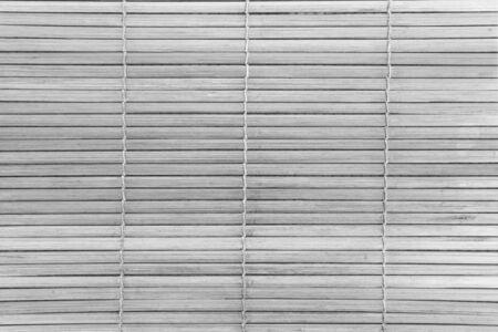bamboo mat: White natural bamboo mat seamless background and texture