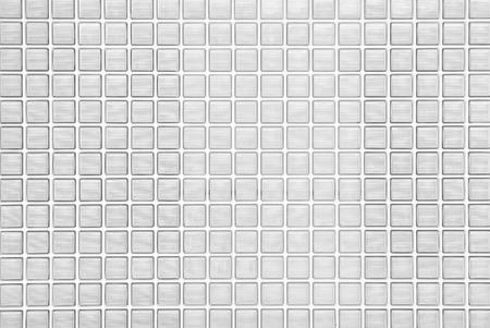 白いガラス ブロック壁シームレスな背景やテクスチャ 写真素材