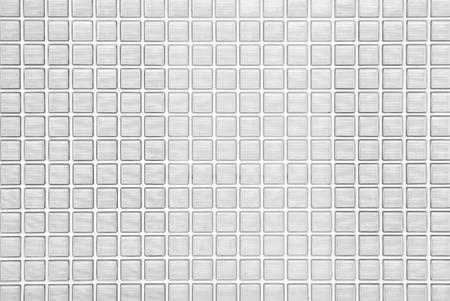 White glass block wall seamless background and texture