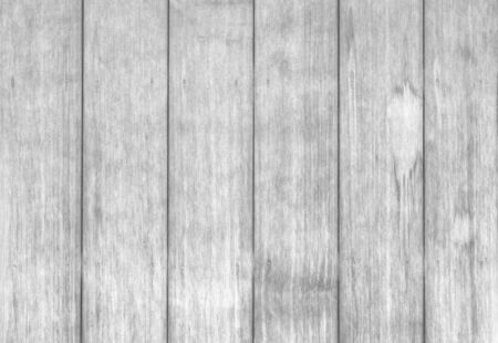 grey pattern: Old white wood fence texture and seamless background Stock Photo