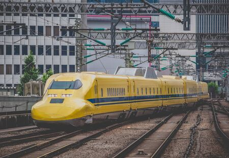 highspeed: Doctor Yellow ,The high-speed test trains that are used on the Japanese Shinkansen Bullet Train