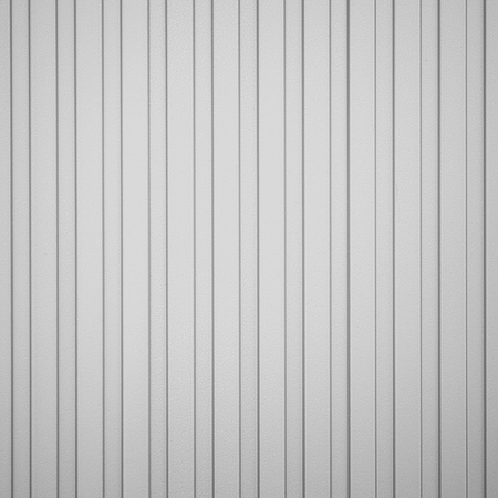 corrugated metal: White corrugated metal background and texture surface Stock Photo