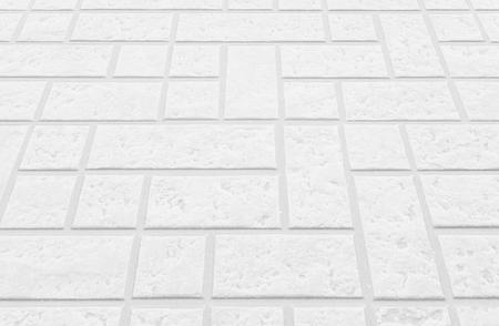 concrete block: Outdoor white concrete block floor background and texture