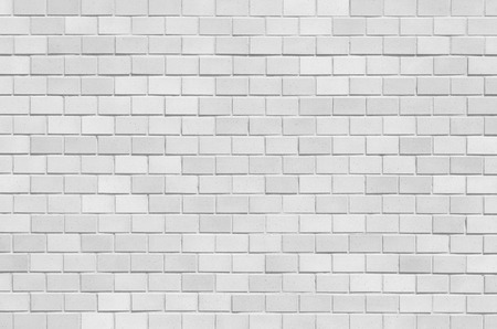 brick texture: White brick stone wall seamless background and texture