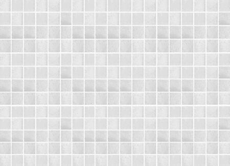 Fondo e struttura senza cuciture della piastrella per pavimento delle terraglie bianche Archivio Fotografico