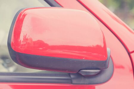 safty: luxury car closed wing mirror after parking for safty drive