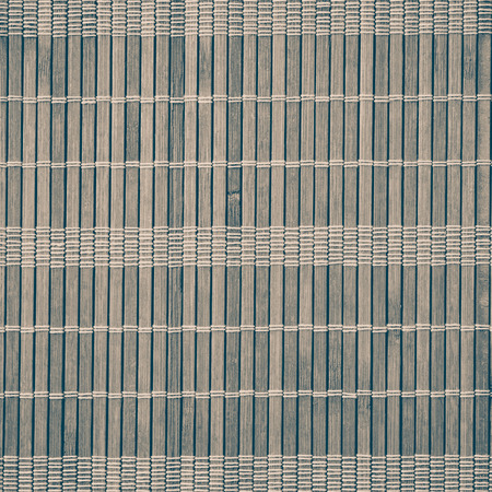 wood background texture: White bamboo mat pattern background seamless and texture Stock Photo