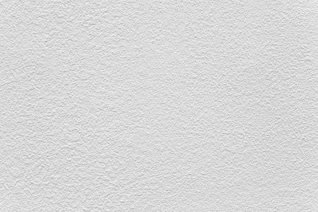Wit cement muur geschilderd textuur en naadloze achtergrond Stockfoto