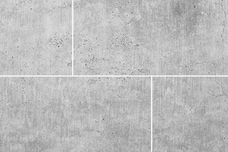 White stone floor texture and seamless background