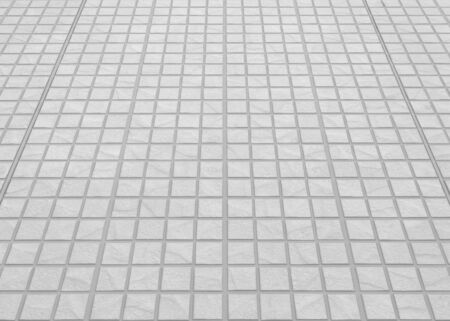 concrete block: Outdoor white concrete block floor background and texture