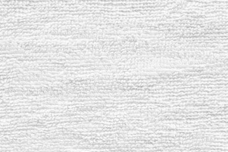 towel: Close - up Clean white towel texture and seamless background