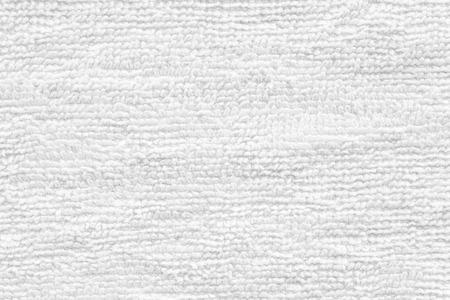toallas: Close - up Limpiar la textura de toalla blanca y fondo transparente Foto de archivo