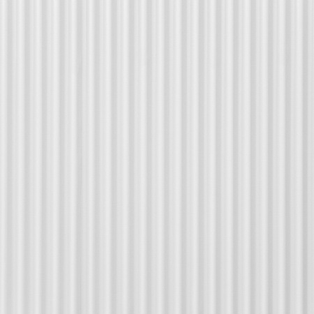 building material: White corrugated metal background and texture surface Stock Photo