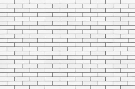 Bianco muro di pietra di mattoni senza soluzione di sfondo e la trama