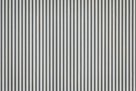 tile cladding: White corrugated metal background and texture surface Stock Photo