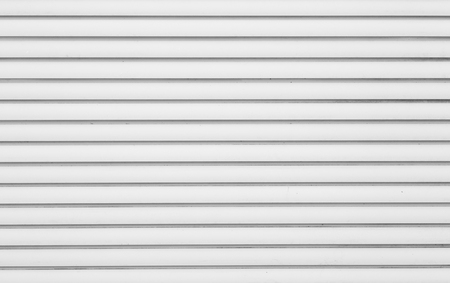 corrugated iron: White corrugated metal background and texture surface Stock Photo