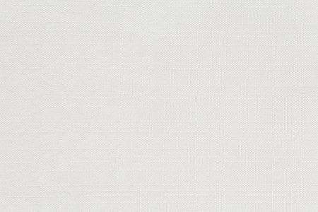 White cotton fabric texture and background seamless