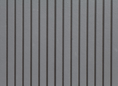 metal pattern: Black corrugated metal background and texture surface