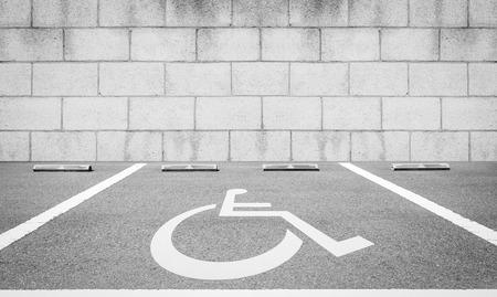 paraplegic: �reas de estacionamiento para discapacitados reservadas para personas con discapacidad