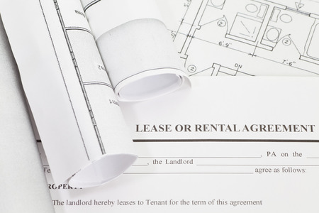 agency agreement: Close - up Lease or rental agreement form