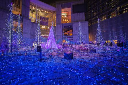Best Tokyo christmas and winter season Illuminations at Shiodome Editorial