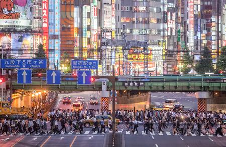 Tokyo Shinjuku Station is the worlds busiest railway station