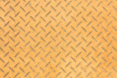 diamond plate: Yellow diamond plate texture and background seamless Stock Photo