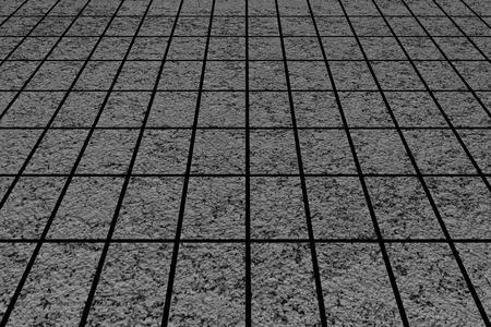 stone floor: Black stone floor texture and background Stock Photo