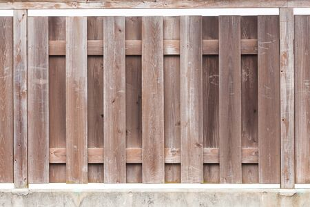 Brown wooden fence pattern and background