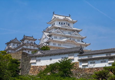 architectural tradition: Himeji Castle , A hilltop Japanese castle complex located in Himeji, Hyogo Prefecture