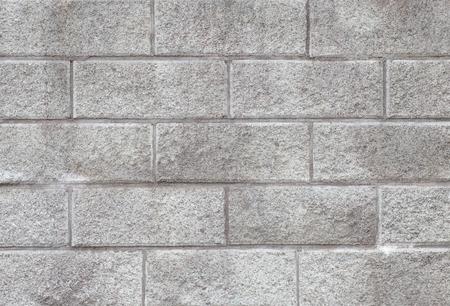 コンクリート ブロック壁のシームレスな背景やテクスチャ 写真素材