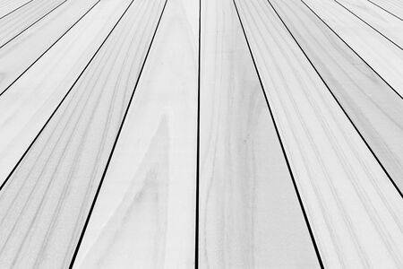 white wood floor: Outdoor white wood floor texture and background , Wood floor background Stock Photo