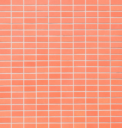 Red brick tile wall texture and background 写真素材