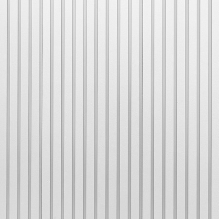 tile cladding: White corrugated metal texture surface and background