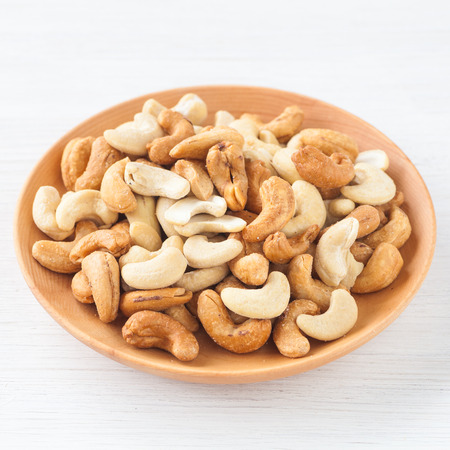 Cashew nuts , The World s Healthiest Foods Stock Photo
