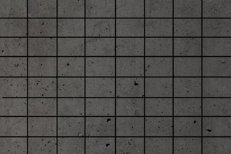 Grey and black mosaic wall texture and background Stok Fotoğraf - 82254490